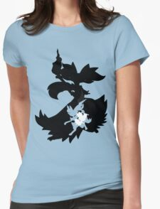 Fennekin - Braixen - Delphox ( Evolution Line ) Womens Fitted T-Shirt
