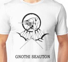 Lucas North : Gnothi Seauton Unisex T-Shirt
