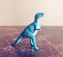 Blue Dinosaur  by TheyComeAlong