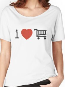 i love shopping Women's Relaxed Fit T-Shirt
