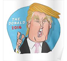 The Donald 2016 Poster