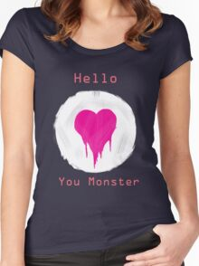 You Monster Women's Fitted Scoop T-Shirt