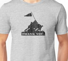 Thank You Veterans Unisex T-Shirt