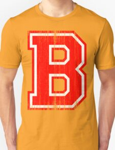 Big Red Letter B T-Shirt