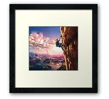 Zelda Breath of the Wild key Artwork (Works on every Item!) Framed Print