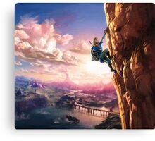 Zelda Breath of the Wild key Artwork (Works on every Item!) Canvas Print