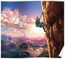 Zelda Breath of the Wild key Artwork (Works on every Item!) Poster