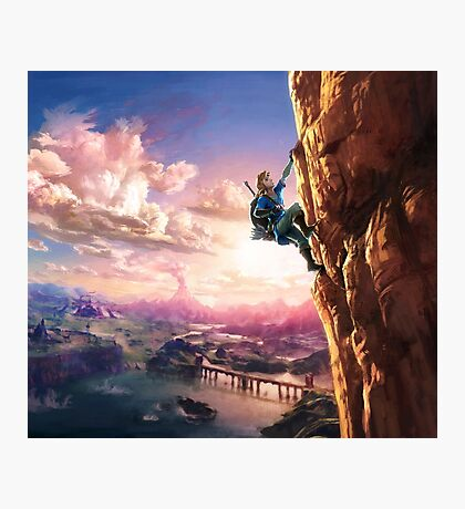 Zelda Breath of the Wild key Artwork (Works on every Item!) Photographic Print