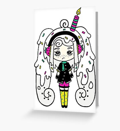 Polar Cake by Lolita Tequila Greeting Card