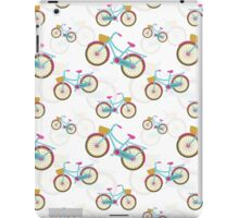 Retro Bicycle Pattern iPad Case/Skin