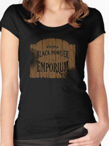 Victor's Black Powder Emporium Women's Fitted Scoop T-Shirt