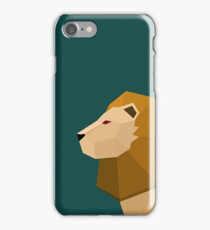 Geometric Lion iPhone Case/Skin