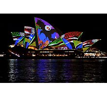 Vivid 2016 Opera House 38 Photographic Print