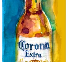 Corona Beer Sticker