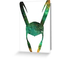 Trickster Space Greeting Card