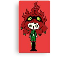 Spicy Horror by Lolita Tequila Canvas Print