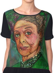 Dowager Countess Chiffon Top