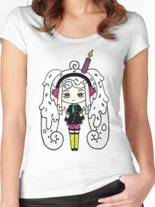 Polar Cake by Lolita Tequila Women's Fitted Scoop T-Shirt