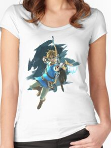 Zelda Breath of the Wild Archer Link Women's Fitted Scoop T-Shirt