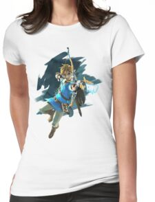 Zelda Breath of the Wild Archer Link Womens Fitted T-Shirt
