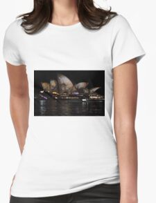 Vivid 2016 Opera House 40 Womens Fitted T-Shirt