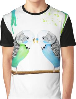 Budgie Love Graphic T-Shirt