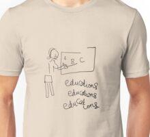 Educations Educations Educations Unisex T-Shirt