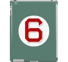 #6 Retired iPad Case/Skin