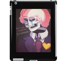 Might Just Disappear iPad Case/Skin