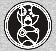 Time Lord - Circular Gallifreyan One Piece - Short Sleeve