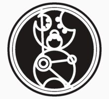 Time Lord - Circular Gallifreyan Kids Tee