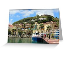 Le West Indies Mall in St. Martin  Greeting Card