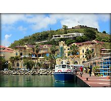 Le West Indies Mall in St. Martin  Photographic Print