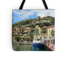 Le West Indies Mall in St. Martin  Tote Bag