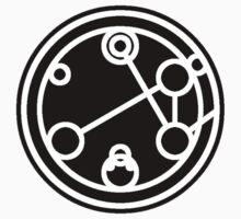 Companion - Circular Gallifreyan One Piece - Short Sleeve