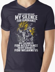 Super Saiyan Gohan Shirt- RB00448 Mens V-Neck T-Shirt
