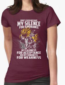 Super Saiyan Gohan Shirt- RB00448 Womens Fitted T-Shirt