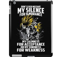 Super Saiyan Gohan Shirt- RB00448 iPad Case/Skin