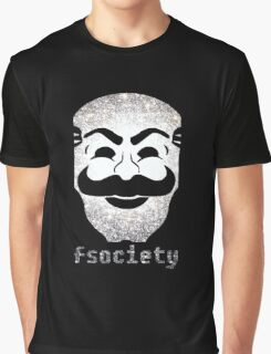 Mr Fsociety Graphic T-Shirt
