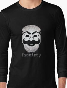 Mr Fsociety Long Sleeve T-Shirt