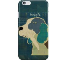 the beagle iPhone Case/Skin