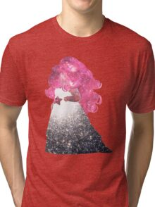 Rose Space Tri-blend T-Shirt