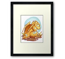 Baby Dragon Framed Print