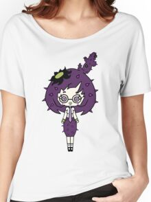 Lilac Cacto by Lolita Tequila  Women's Relaxed Fit T-Shirt
