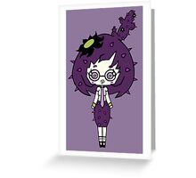Lilac Cacto by Lolita Tequila  Greeting Card