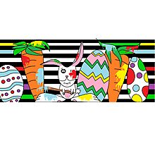 Silly Rabbit Photographic Print