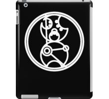 Time Lord - Circular Gallifreyan iPad Case/Skin