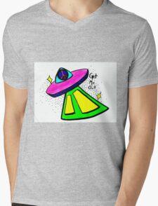 Get Me Out Mens V-Neck T-Shirt
