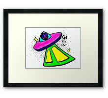 Get Me Out Framed Print