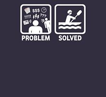 Funny Rafting Problem Solved Unisex T-Shirt